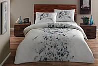 Набор постельного белья TAC Divine Blue (двуспальный евро)