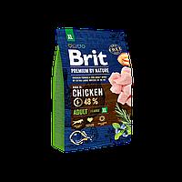 Сухой корм 3 кг для собак гигантских пород Брит Премиум / Adult XL Brit Premium