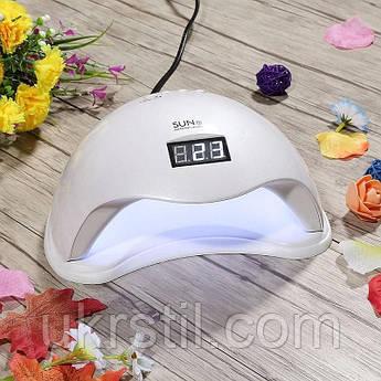 Лампа для маникюра LED+UV Sun 5, 48W