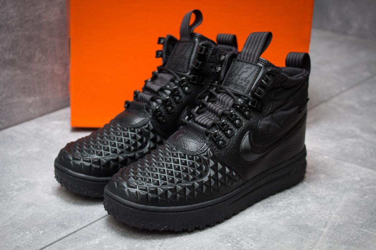 Зимние кроссовки в стиле Nike LF1 Duckboot, черные (30251),  [  43 (последняя пара)  ]