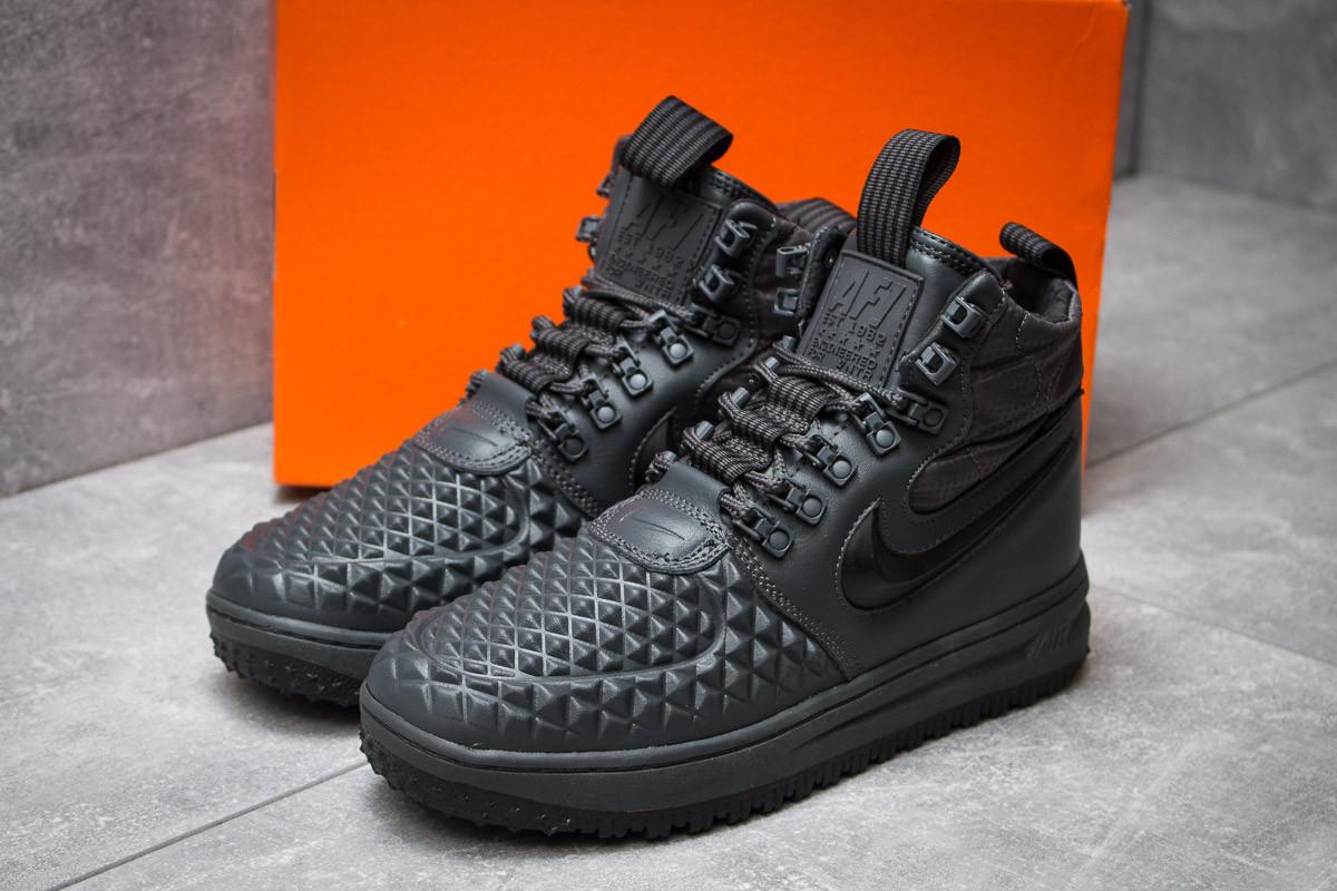 Зимние кроссовки в стиле Nike LF1 Duckboot, серые (30252),  [  42 43 44  ]