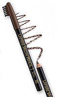 Стойкий карандаш для бровей  светло-коричневый №1