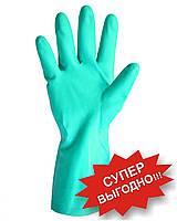 Перчатки нитриловые, зеленого цвета, арт. 4115