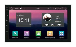 Универсальная 2DIN магнитола Swat Android 7 (AHR-5510)