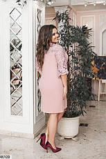 Нарядное женское платье больших размеров 48-50, 52-54, 56-58, фото 3