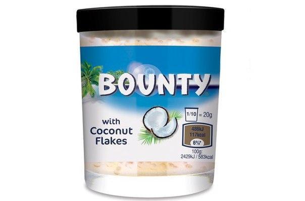 Крем с кокосовой стружкой Bounty Creme