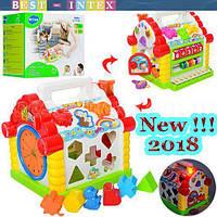Игрушка Теремок-сортер 9196 ТМ Joy Toy (2 АА)