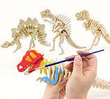 Деревянные 3D пазлы Домашние животные мал (D132), фото 6