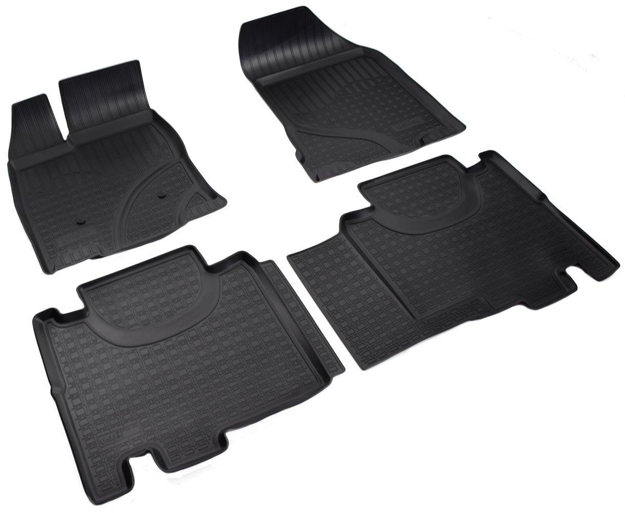Килимки в салон для Ford Edge (14-) (полиур., компл - 4шт) NPA11-C22-120