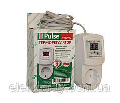 Терморегулятор РТ20-VR2 розеточный цифровой Pulse