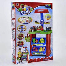 Ігровий набір Магазин Супермаркет 661-79 кошик, каса, сканер, продукти, ваги