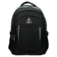 Рюкзак Enrico Benetti Sevilla с отделением для ноутбука, черный с серым (Eb62027 614)