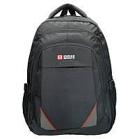 Рюкзак Enrico Benetti Valladolid с отделением для ноутбука, черный с красным (Eb62030 618)