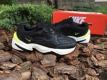Мужские кроссовки Nike M2K Tekno Black Volt  ( Реплика ), фото 3