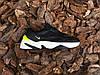 Мужские кроссовки Nike M2K Tekno Black Volt  ( Реплика ), фото 2
