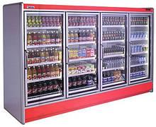 Холодильные шкафы - витрины с выносным агрегатом