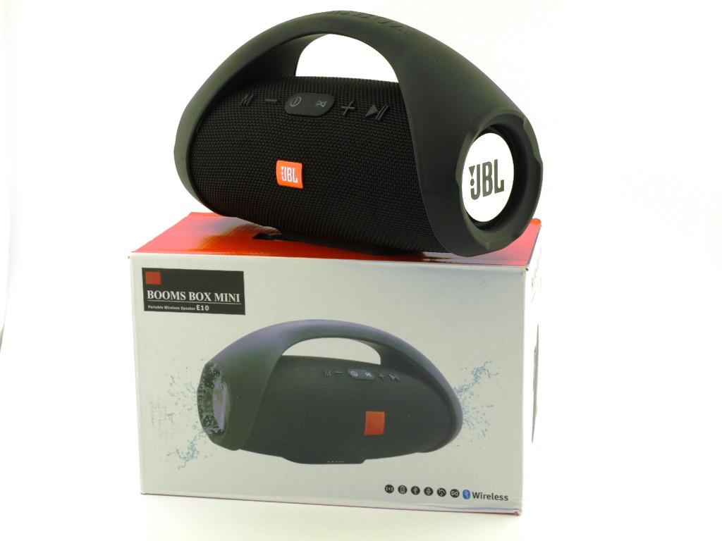 колонка Mini Speaker Jbl Booms Box Mini E10 Black Power Bank