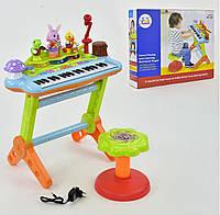 Детский синтезатор со стульчиком Huile Toys 669