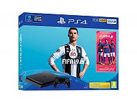 Игровая приставка Sony PlayStation 4 Slim (PS4 Slim) 500GB + FIFA 19