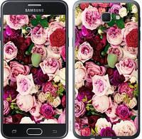 """Чехол на Samsung Galaxy J5 Prime Розы и пионы """"2875u-465-15168"""""""