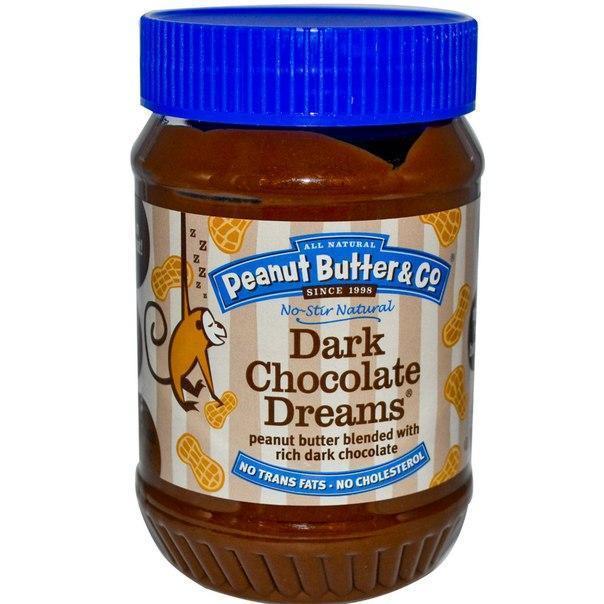 Арахисовая паста Peanut Butter & Co с черным шоколадом