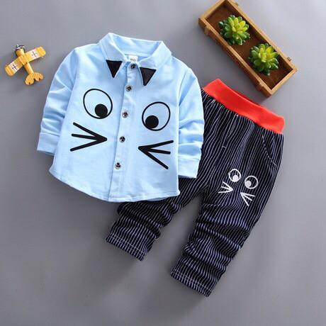 Нарядный костюм на мальчика голубая рубашка на 4 года