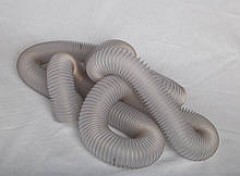 Труба гофрированная гибкая ПВХ 180мм 0,5 мм