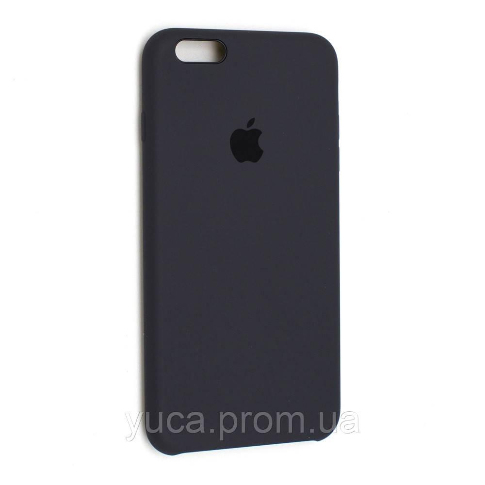 Чехол силиконовый для APPLE iPhone 6 Plus 15 серый уголь оригинал