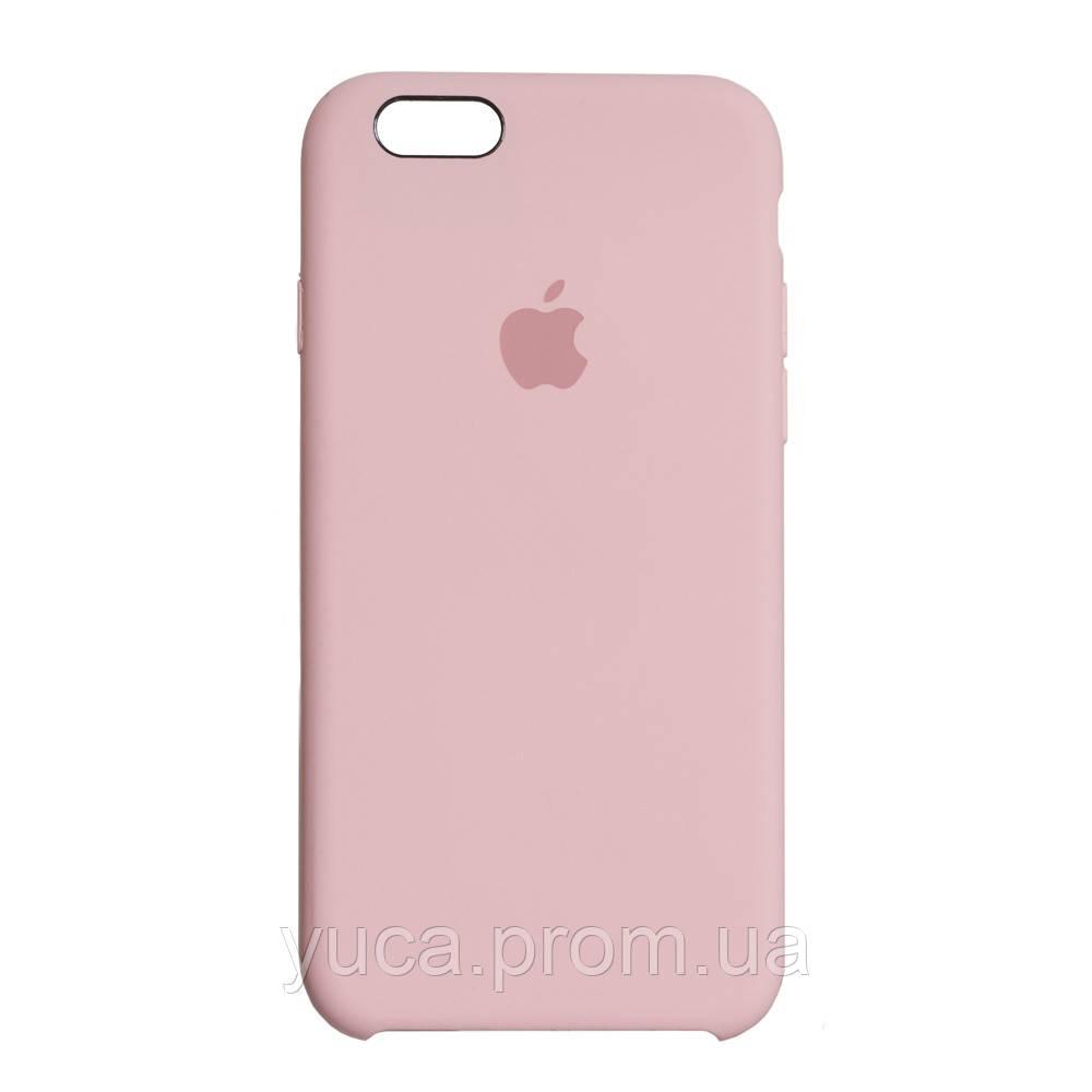 Чехол силиконовый для APPLE iPhone 6G 12 розовый оригинал