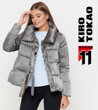 11 Киро Токао | Осенняя женская куртка 811 серая