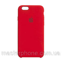 Чехол силиконовый для APPLE iPhone 6G 14 красный оригинал
