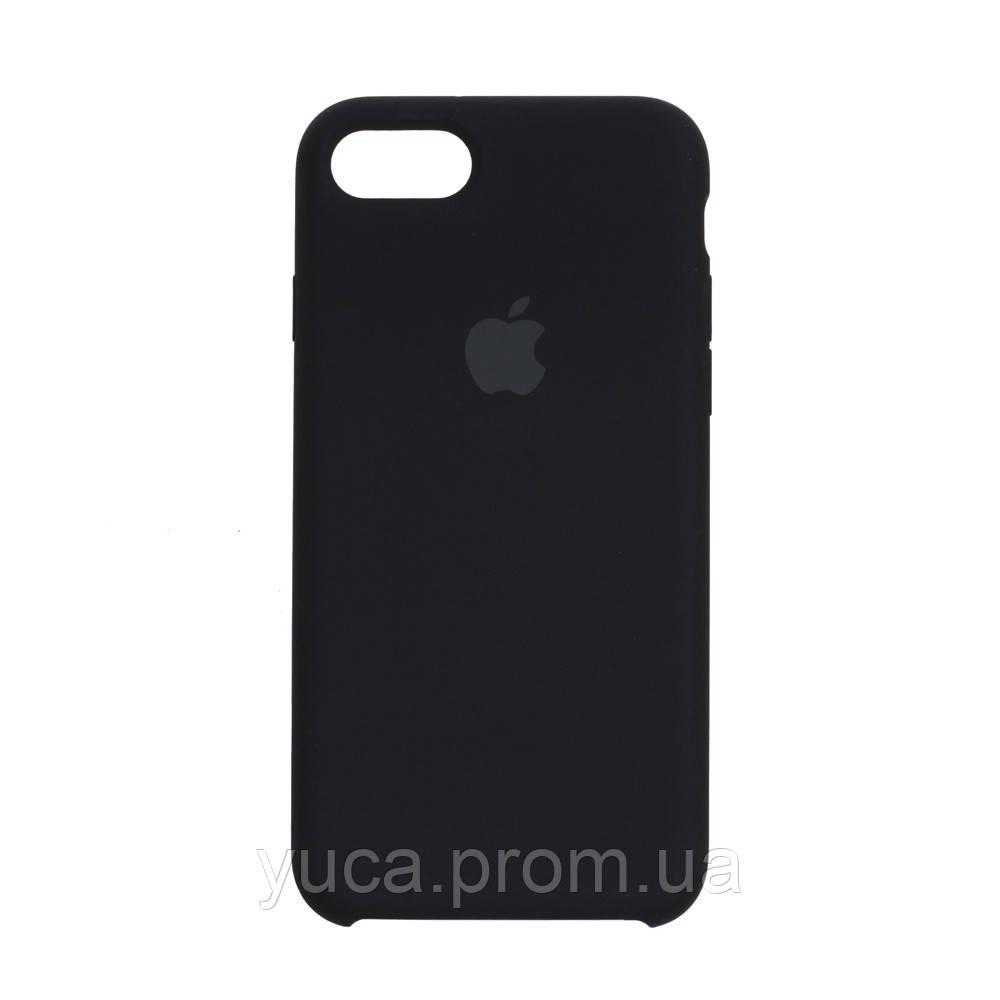 Чехол силиконовый для APPLE iPhone 8G 08 чёрный оригинал