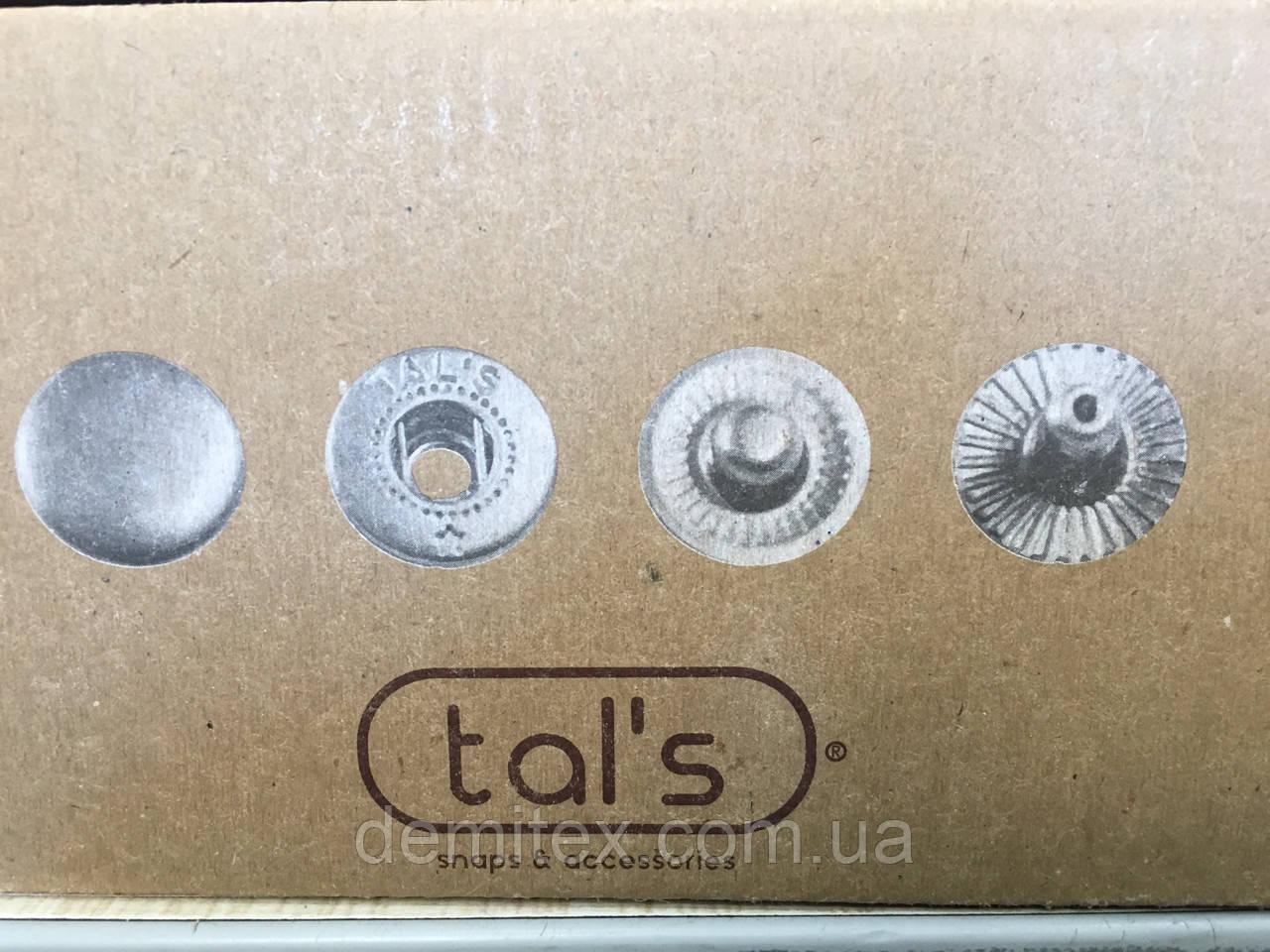 Кнопка одёжная Tals 54 (12,5мм)  черный никель