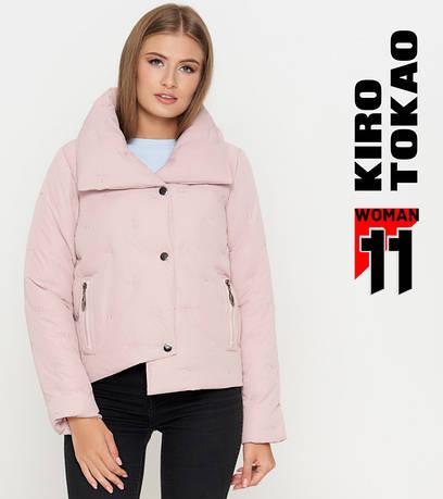 11 Kiro Tokao | Теплая женская куртка 1828 пудра