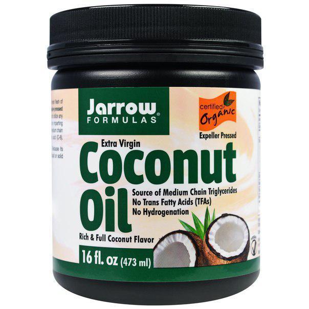Кокосовое масло Jarrow Formulas Extra Virgin Coconut Oil