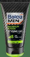 Стайлинг гель для волос Balea MEN Styling Gel Maximum Power, 150 ml.