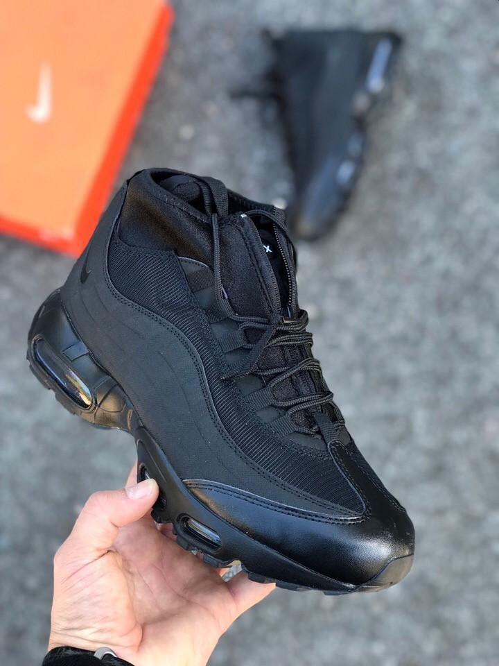 5f187801 Зимние кроссовки Nike air max 95 Sneakerboot (реплика) - Интернет-магазин