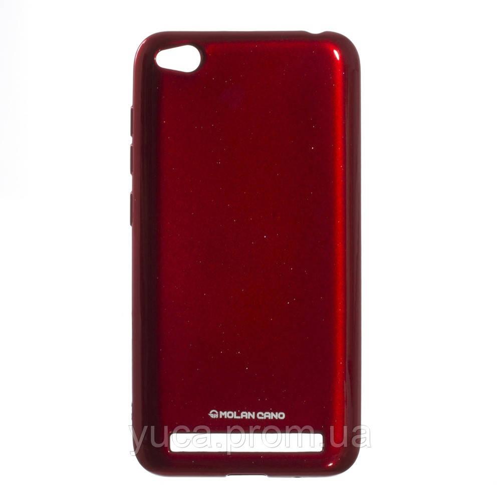 Чехол силиконовый для XIAOMI Redmi 5A Molan Shining 05 красный