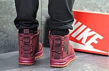 Зимние подростковые(женские) кроссовки Nike Air Force,бордовые 36,37р, фото 3