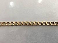 Цепочка алюминиевая золото 1.8х14.4х7.8 мм