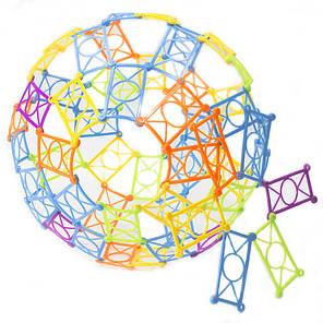 ➛Конструктор детский Lesko 70 деталей развивающий головоломка для девочек и мальчиков, фото 2