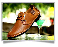 Высококлассные мужские кожаные туфли  Gucci  2 цвета