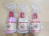 Подарок с приколом - Бутылочка из махровой салфетки