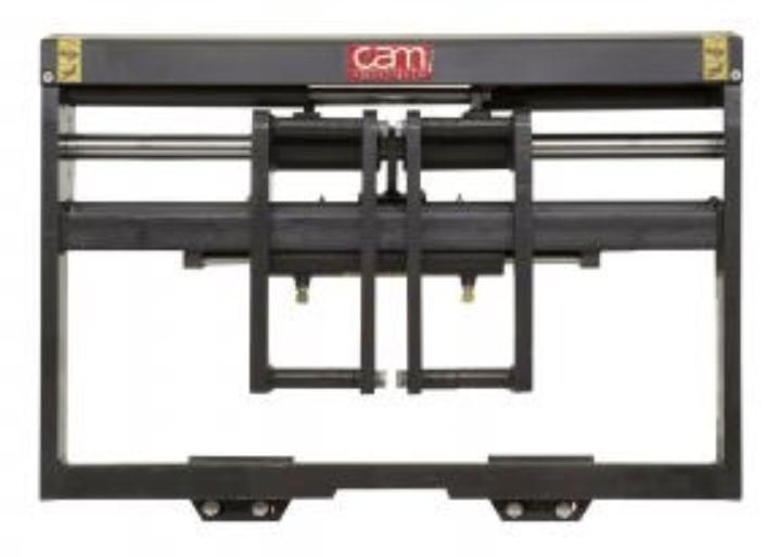 Позиционервил CAM PL-Tс FEM кареткой, установленной на балке, с отдельной кареткой бокового смещения
