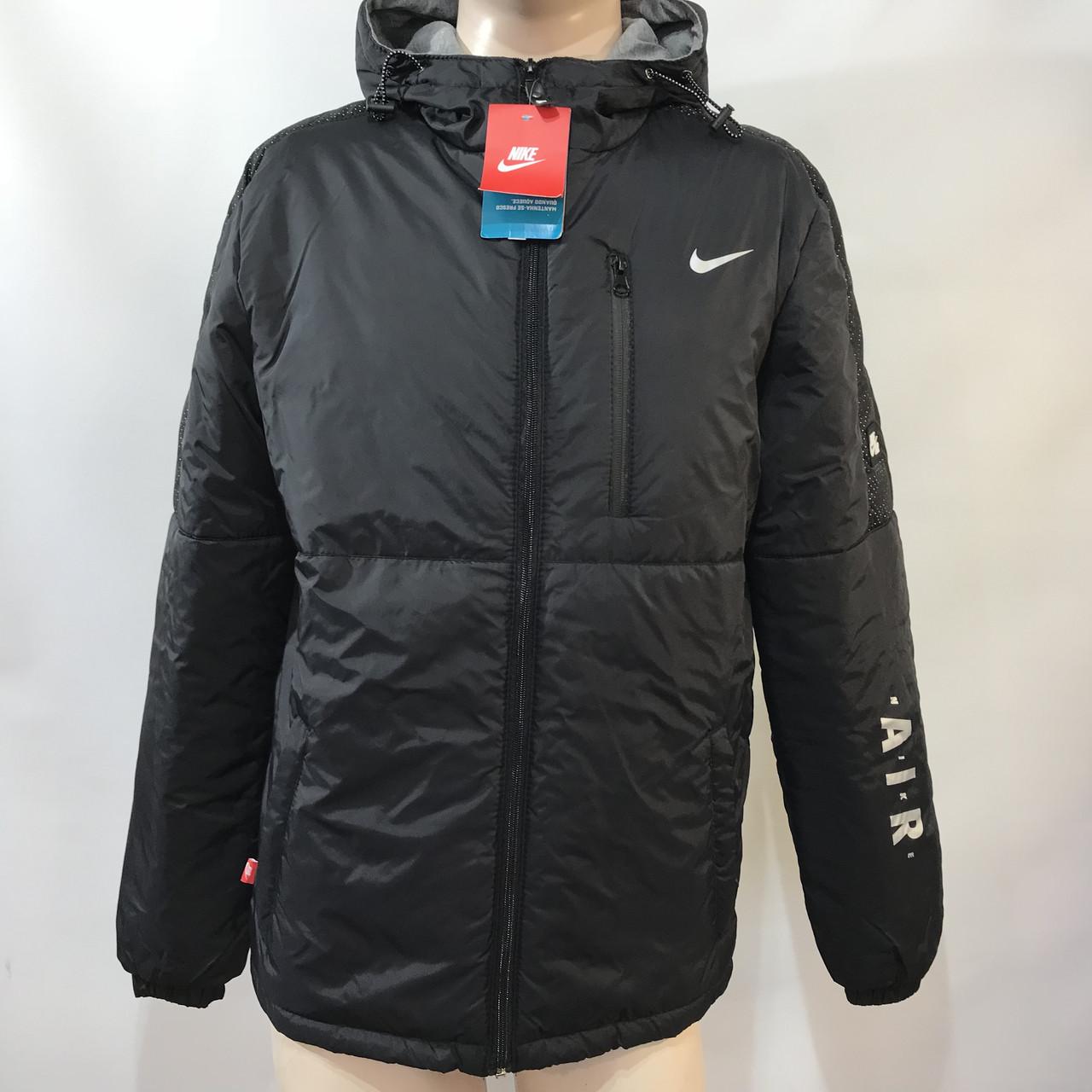 Ветровка мужская Nike / реплика черная