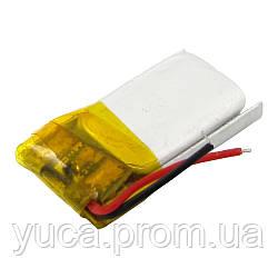 Аккумулятор с контроллером универсальный 04*10*21 mm (Li-ion, 3,7V, 50mAh)
