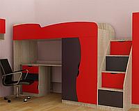 Кровать-чердак со столом Тинейджер сп.м. 190*80 см