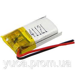 Аккумулятор с контроллером универсальный 04*11*21 mm (Li-ion, 3,7V, 50mAh)