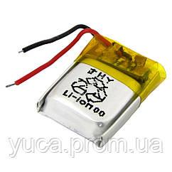 Аккумулятор с контроллером универсальный 04*15*17 mm (Li-ion, 3,7V, 50mAh)