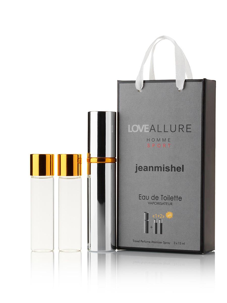 3 по 15 мл Міні-парфуми JEANMISHEL LOVE ALLURE HOMME SPORT EDT (м) 17